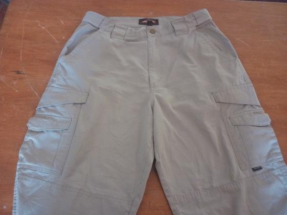 Espectacular!! Pantalon Tactico Orig. Tru Spec - Khaki T42