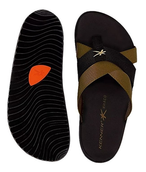 Chinelo Kenner Rhaco Spider Duo Gold 009181