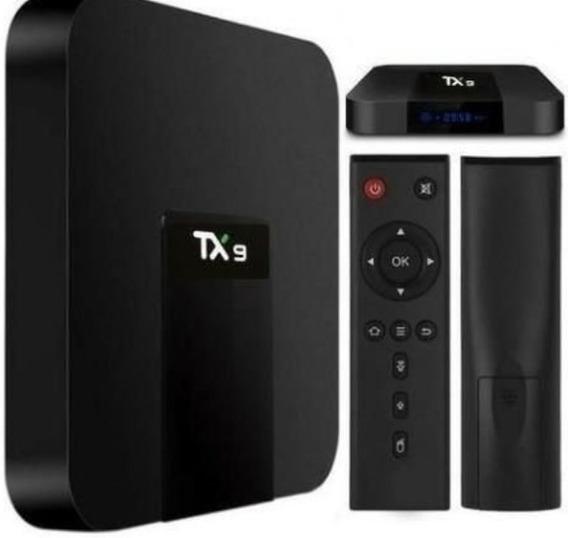 Conversor Smart Tv Tx9 4gb Ram Ddr-3 32gb Rom Andorid 9.0