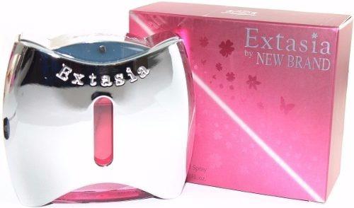 Perfume Extasia By New Brand Feminino 100ml Barato