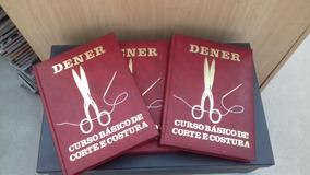 Coleção Livros Dener - Corte E Costura - Oferta Especial