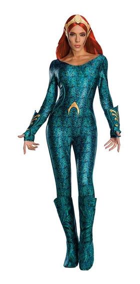 Disfraz Mujer Aquaman Mera Talla S M L