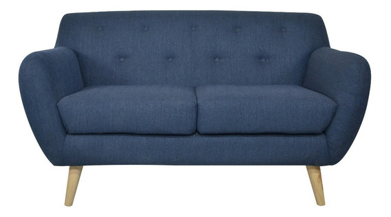Love Seat Ady Azul Mo Gdl