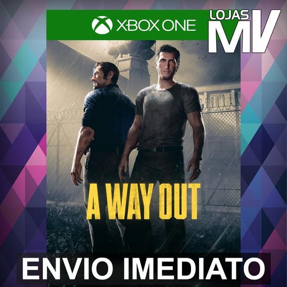 A Way Out - Xbox One Código 25 Dígitos