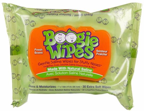 Lenços Boogie Wipes 30 Unidades Fresh Scent