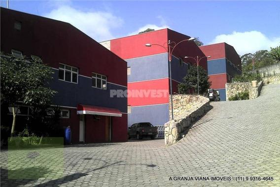 Galpão Industrial À Venda, Jardim Santa Luzia, Embu Das Artes - Ga0024. Agvi - Ga0024