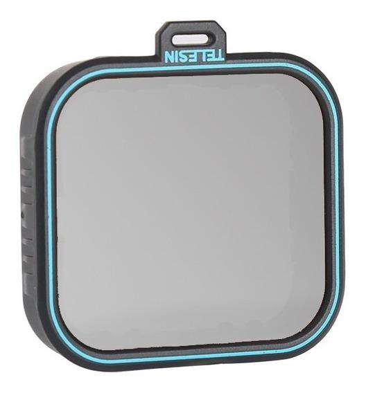 Filtro Cpl Polarizador Telesin Para Gopro Hero 5 6 7 Black