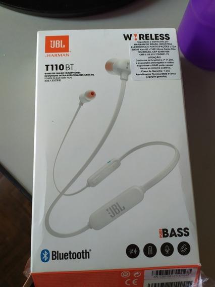 Fone Bluetooth Jbl T110 2 Meses De Uso