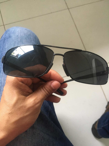 Óculos Masculino Original Preto Polarizado.