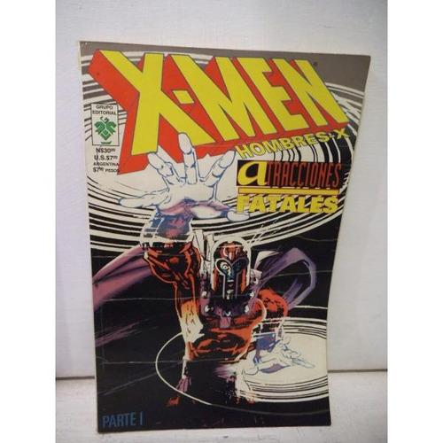 Atracciones Fatales Tomo 1 X-men Editorial Vid