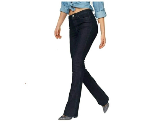 Jeans Elastizados Mujer Tiro Alto Izzullino Talle 38 Al 60