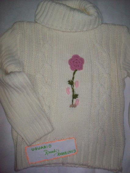 Swetter-pulover- Niña Talle 6