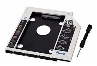 Caddy Segundo Disco Notebook Hdd Sata O Ssd Lenovo 9mm