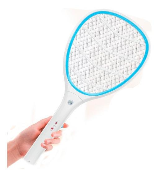 Raquete Mata Mosquito Bateria Recarregável Lanterna Inmetro
