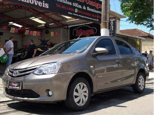 Toyota Etios Etios Sedan 1.5 X 16v Flex 4p Manual