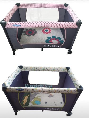Imagen 1 de 3 de Corral Corralito Plegable Portatil Baby Kits Bebe Niña Niño