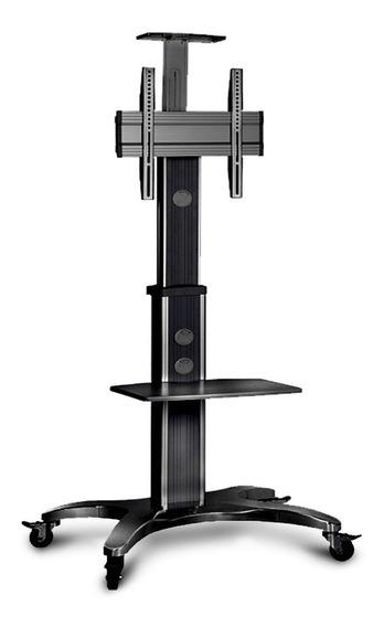 Suporte Pedestal Rodas E Altura Regulável P/ Tv 32 A65 Elg