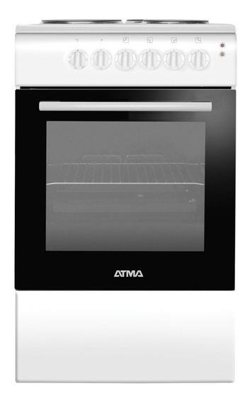 Cocina Atma CCE3110 4 eléctrica blanca 220V puerta visor