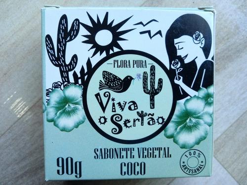 Sabonete De Coco Flora Pura 3 Uni