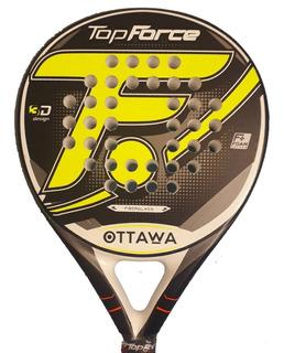 Paleta De Padel Top Force Ottawa + Grip + Protector