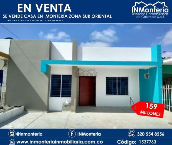 Se Vende Casa En Montería Zona Sur Oriental