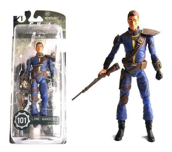 Figure Action Boneco Fallout 4 Lone Wanderer Legacy Collect