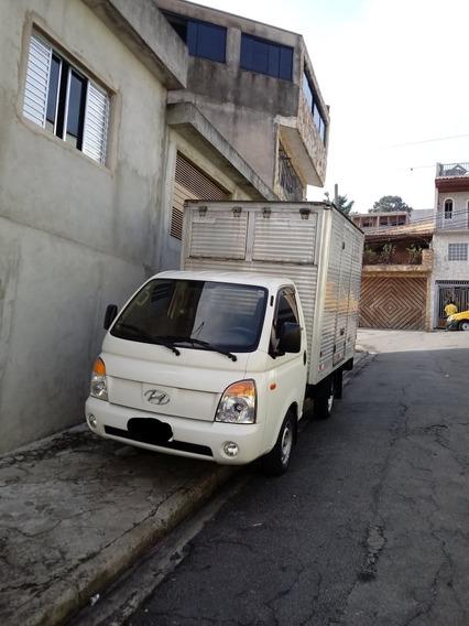 Hyundai Hr Motor 2.5 2007 Branca Com Baú E Manual