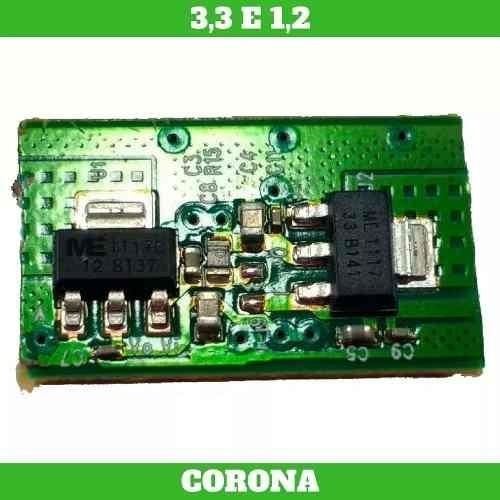 Xbox360 Regulador 3.3v E 1,8v Para Trinity E/ou 1,2 Corona