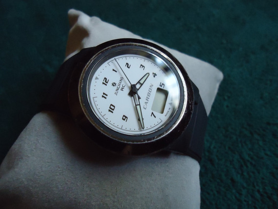 Junghans Carbon Reloj Vintage Aleman