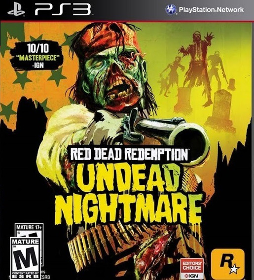 Jogo Red Dead Redemption Undead Nightmare Ps3 Playstation 3