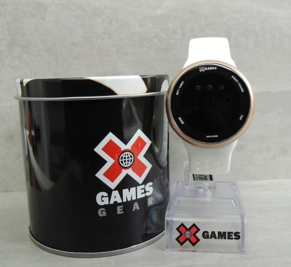 Relógio Feminino Digital X Games Mod: Xfppd059 Pxbx - Nota Fiscal E Garantia Oficial Orient