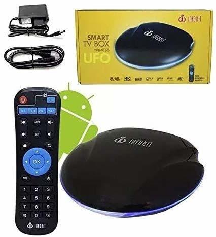 Tv Box Smart Quadcore 2gb Ddr3 16gb 4k Hdmi Wi-fi Infokit