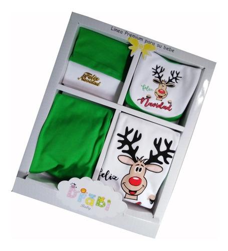 Ajuar De Bebe Diseño Feliz Navidad