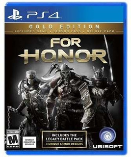 For Honor Gold Edition - Ps4 Juego Físico - Sniper Game