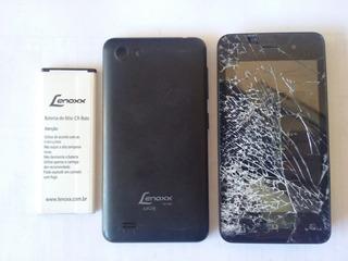 Celular Lenoxx Mob Cx-940 4,0¨ Com Defeito - 2365