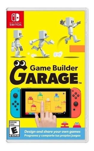 Imagen 1 de 3 de Game Builder Garage Nintendo Switch Juego Fisico Sellado