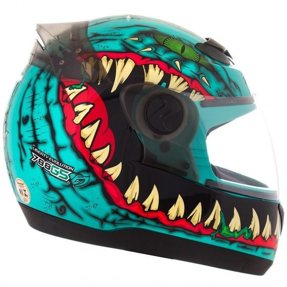 Capacete Evolution G5 60 Dragon Azul - Tork