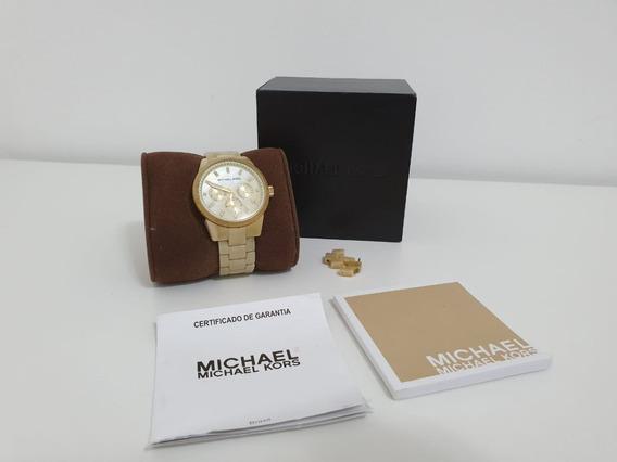 Relógio Michael Kors Original - Mk - Feminino Madrepérola
