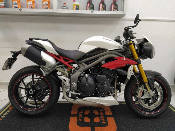 Triumph Speed Triple 1050 R Branca 2017 - Target Race