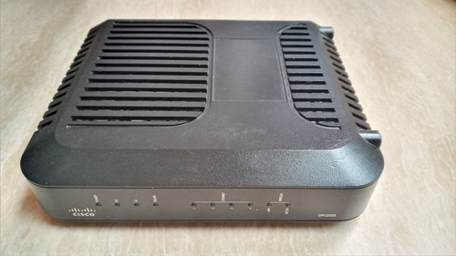 Imagen 1 de 4 de Moden Cisco, Modelo Dpc2325, (entrada Cable Coaxial) Usado