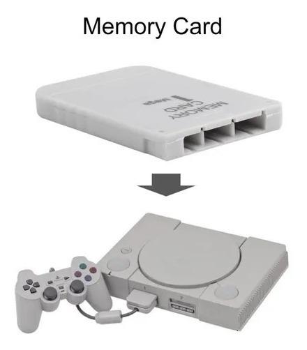 Memory Card Ps1 + 1 Jogo De Brinde