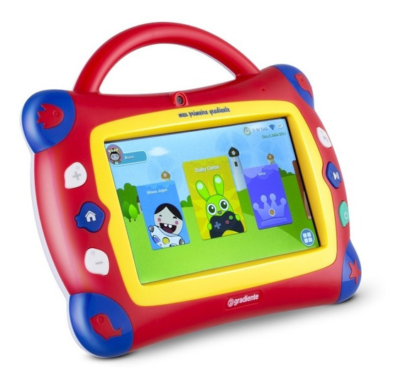 Tablet Gradiente Estação Kids Gtb106 Bluetooth 16gb