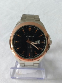 Relógio Prateado Sports G-3197 Atlantis Style Original