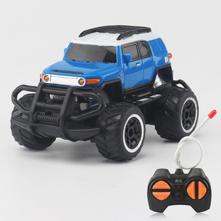 1:43 Mini Rc Todoterreno 4 Canales Modelo Vehiculo Azul
