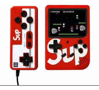 Mini Consola Sup 400 Juegos 2 Jugadores