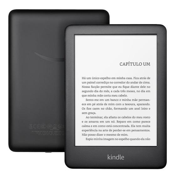 Kindle 10ª Geração Amazon, Preto, 4gb Wi-fi, Tela De 6