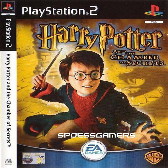 Harry Potter E A Câmara Secreta Ps2 Desbloqueado Patch