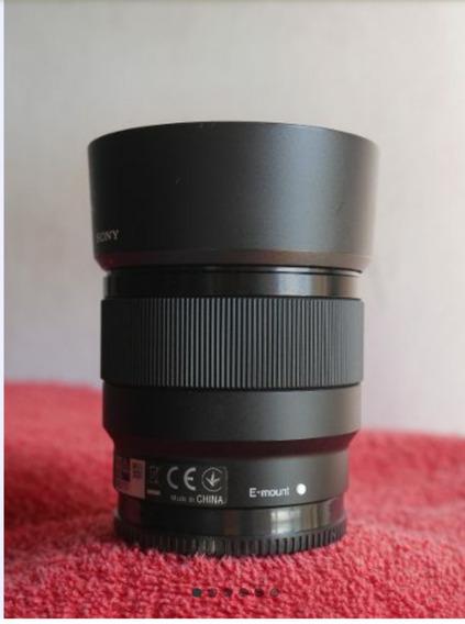 Lente Sony Fe 50mm 1.8