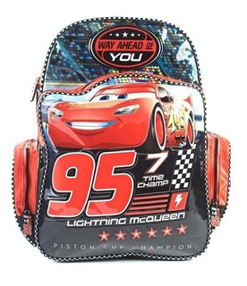 Mochila Espalda 7 Time Champ Cars 12 Plg Wabro -minijuegos