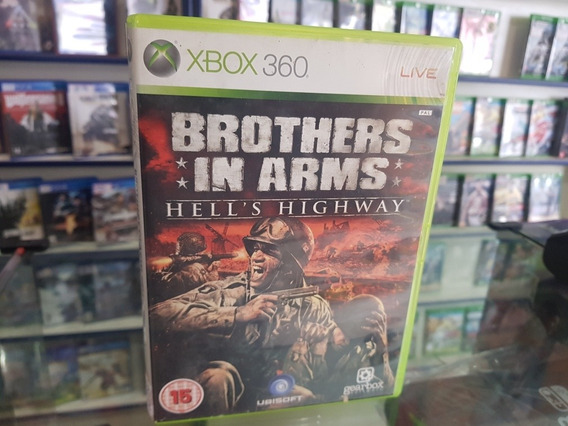 Brothers In Arms Hells Highway Usado Original Xbox 360 Mid